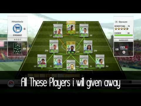 FIFA 12 | Epic Ultimate Team Giveaway PS3 | CLOSED