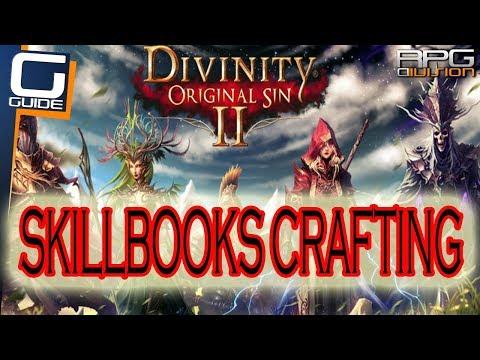 DIVINITY ORIGINAL SIN 2 - Skillbooks Crafting Guide