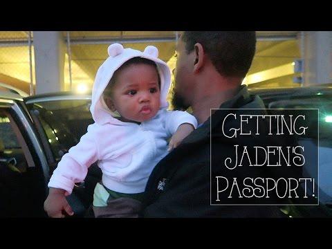 Getting Jaden's Passport! - Roodianne Daily Vlog // 5.18.16