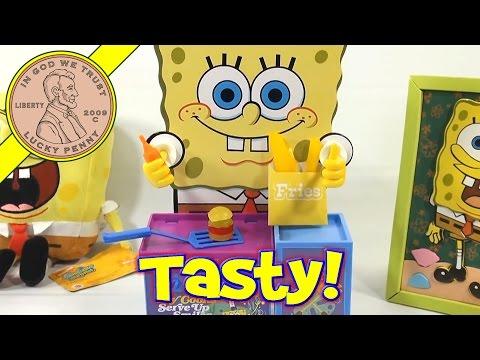 SpongeBob SquarePants Gummy Krabby Patty and Kelp Fries Maker Set, CraZArt