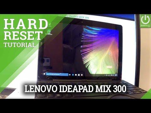 Hard Reset LENOVO IdeaPad MIIX 300 - Remove Password / Format