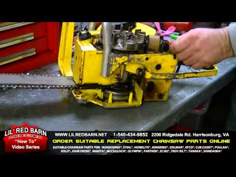 How To Install  an Ignition Chip on a McCulloch Chainsaw