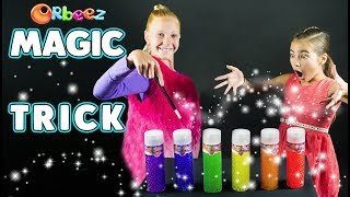 How To Do A Super Cool Magic Trick With Orbeez! | Official Orbeez