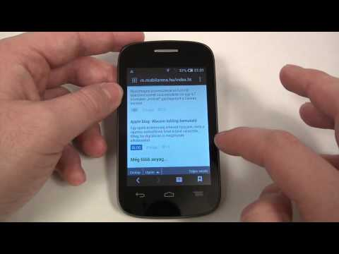 Alcatel One Touch Pop C1 Hands On