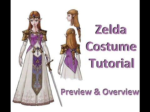 Zelda Twilight Princess Costume How To Tutorial: Preview