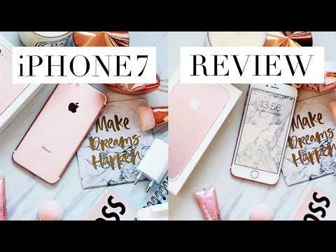 iPhone 7 Rose Gold Unboxing + First Impression   LilyLikecom