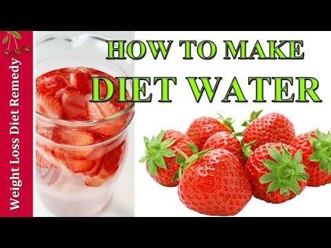 DETOX WATER WEIGHT LOSS BURN FAT STRAWBERRY 4 kg/9LBS a week विषविहीन जल मोटापा घटाओ