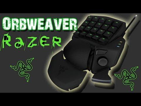 Razer Orbweaver Gaming Keypad Review & Demo!