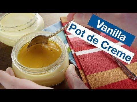 Vanilla Pot de Creme Recipe || Le Gourmet TV Recipes Sous Vide