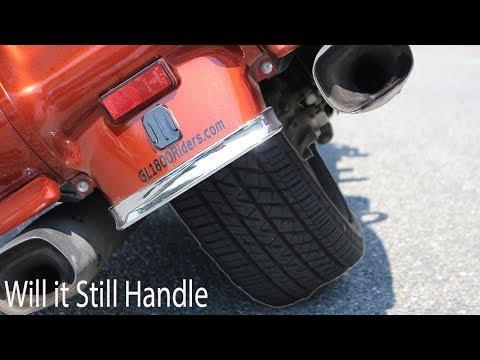 Is a Car tire on a Motorcycle a good idea?