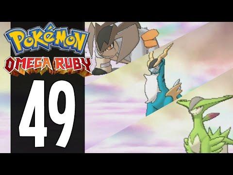 Pokemon Omega Ruby - Part 49 - Catching Terrakion, Cobalion And Virizion (Gameplay Walkthrough)