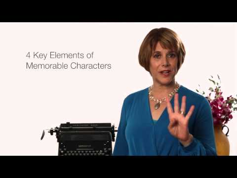 5 Secrets to Writing a Bestselling Novel — Secret #2: Creating Memorable Characters