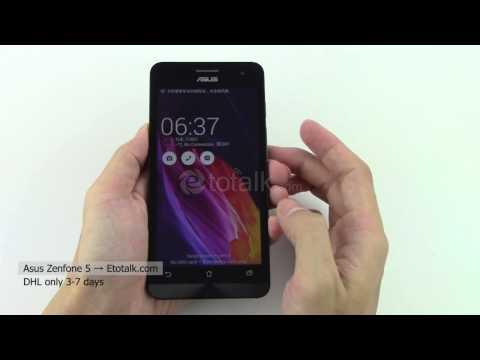 Asus ZenFone5 Android 4.3 Intel CPU 1.6GHz Dual Sim Dual Ringtone