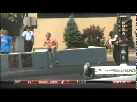 Comp Eliminator Crash at Chicago National (Matt Harris and Bruno Massel)