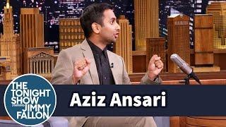 Aziz Ansari Got a Car Stuck Between Two Buildings in Italy