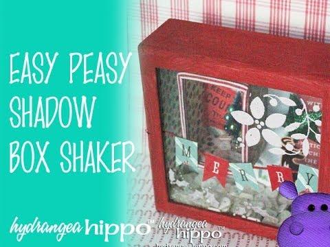 How to Make a Christmas Shadowbox or Shaker Box