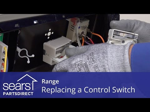 Replacing a Range Surface Element Control Switch