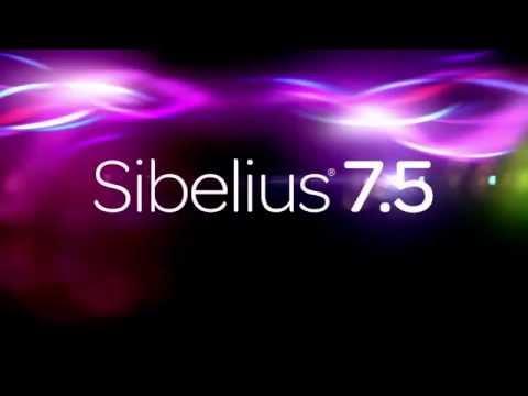 Sibelius 7.5 Español x86 y x64 Full