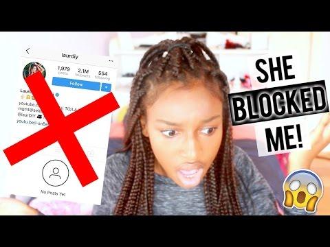 LAURDIY BLOCKED ME ON INSTAGRAM! | Coco Chinelo