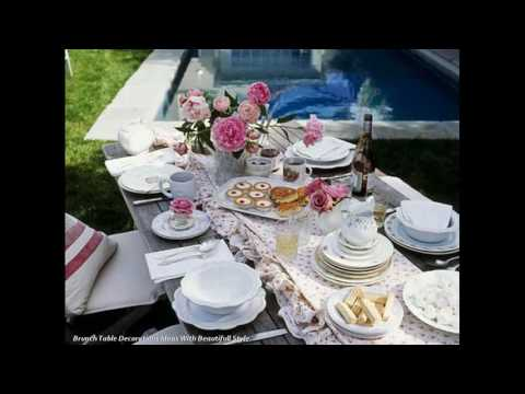 Breakfast Table Decorations Suggestions