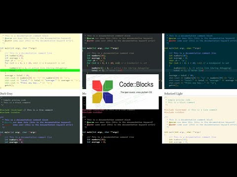How to add more Syntax highlighting custom colour themes to Code Blocks text editor IDE