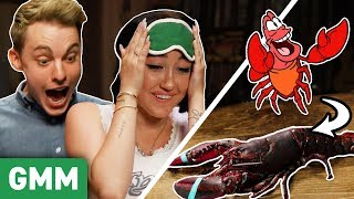 Disney Movie Food Challenge w/ Jon Cozart & Noah Cyrus