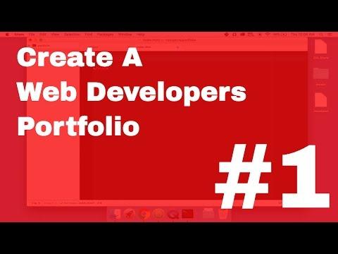 #1 Create a Web Developers Portfolio