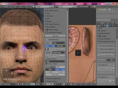 tutorial How to make face pes 2013 by A Hamdy Facemaker
