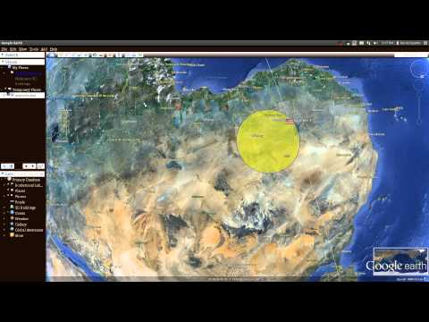 Mapping satellites in real time with google earth.