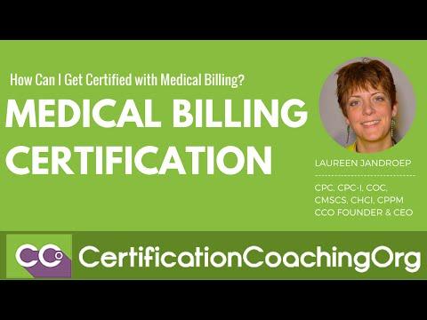 Medical Billing Certification — How Can I Get Certified?