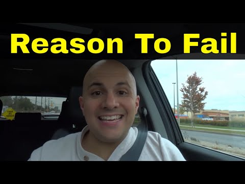 Reason To Fail The Driving Test-Lack Of Steering Control