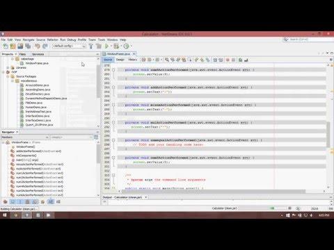 Create Executable Jar file in NetBeans