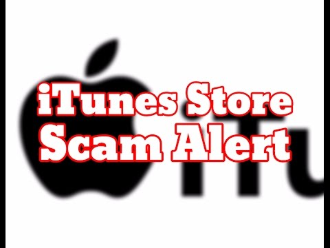 WARNING: New Apple Scams - Apple iTunes Store Phishing Scam Alert - Apple Scammer