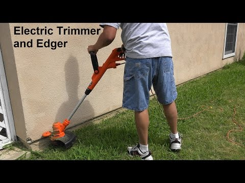 Electric Grass/String Trimmer GH900 Black and Decker