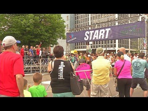 Large turnout for 18th annual Buffalo Marathon