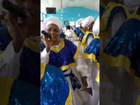 Busola Oke in her church