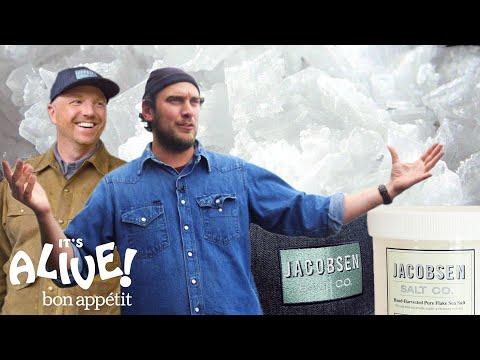 Brad Makes Salt From Scratch | It's Alive | Bon Appétit