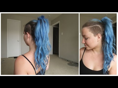 GRWM | Hair Style: How to Put Hair Extensions Into a Ponytail