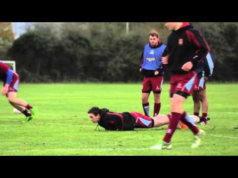 Rugby World conditioning drill