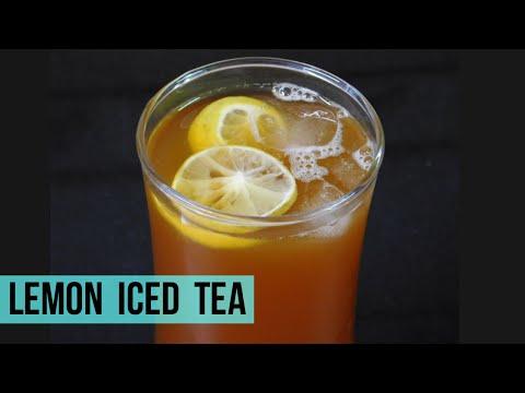 Lemon Iced Tea Recipe, Iced Tea Recipe | Summer Drinks 🍹
