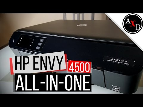 HP Envy 4500 All-In-One Color Photo Printer Review