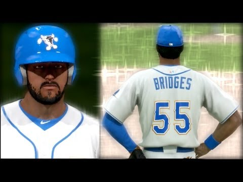 MLB 14 The Show Road to the Show PS4 - Bridges Unstoppable When Up to Bat - Another Hitting Streak