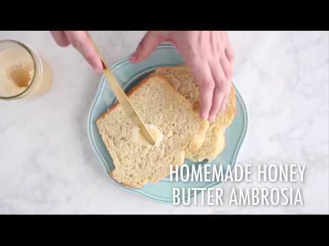 Homemade Honey Butter Ambrosia