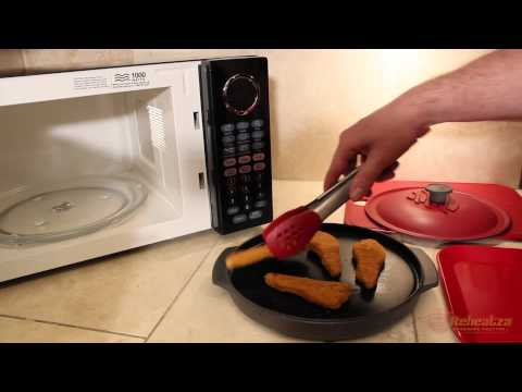 How to Crisp Frozen Chicken Strips in the Microwave with Reheatza®