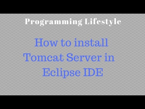 How to install Tomcat Server in Eclipse IDE