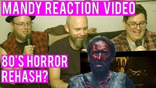 Mandy Movie Trailer Reaction - Cool 80