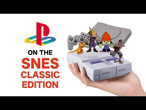 How to play PlayStation games on the SNES CLASSIC using the USB-HOST mod