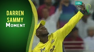 PSL 2017 Match 3: Karachi Kings v Peshawar Zalmi - Darren Sammy Selfie Momment