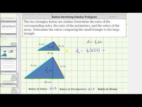 Discover the Ratios of Sides, Perimeters, and Areas of Similar Polygons (CC:6.G.1)