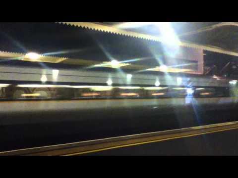Enterprise Train At Lisburn Train Station